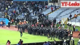 Slovan Bratislava Vs Sparta Braha Euro League HOOLIGANS RIOT