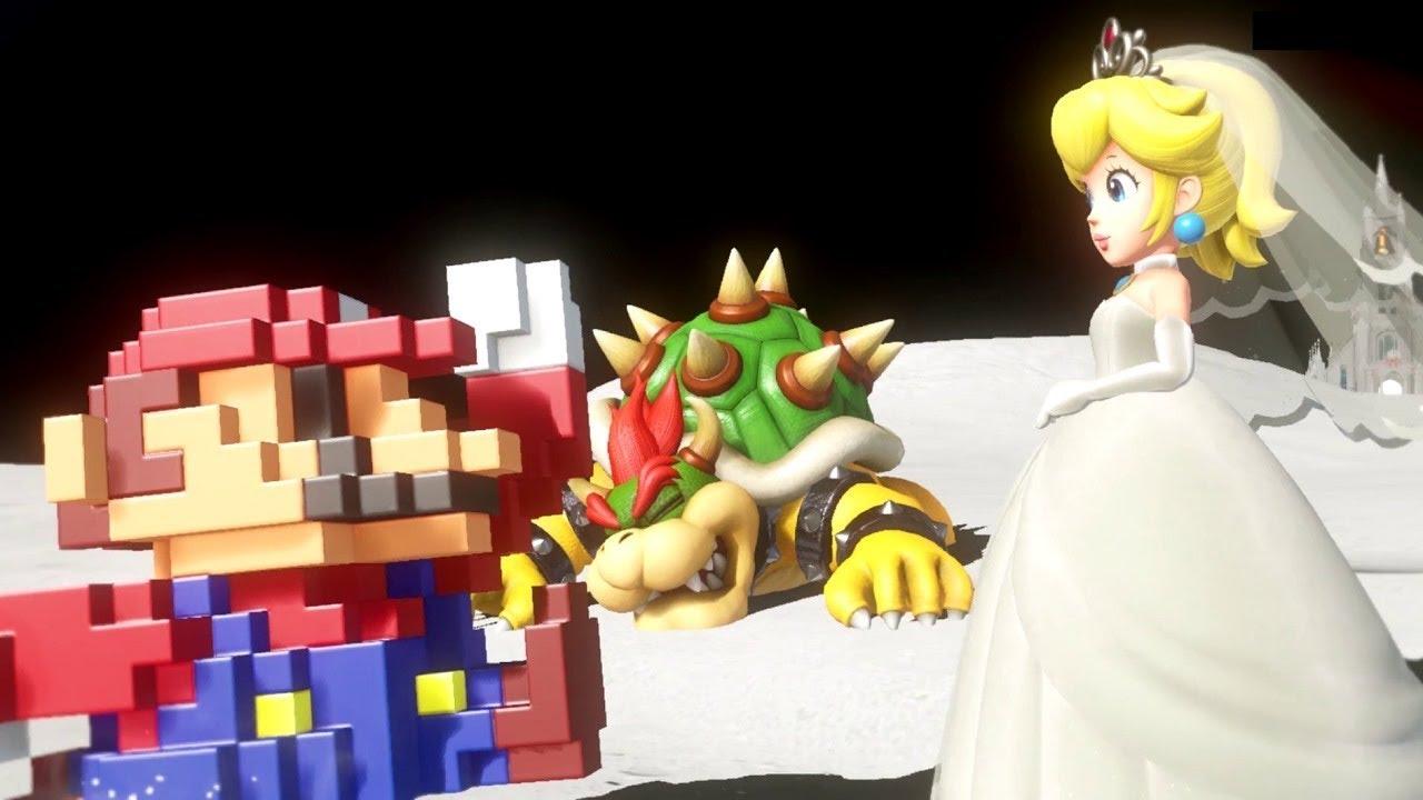 8 Bit Mario Cap In Super Mario Odyssey
