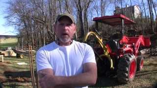 How To Build A Pole Barn Pt 2 - Digging Holes