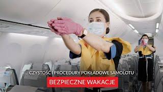 BEZPIECZNE WAKACJE | Czystość i procedury pokładowe samolotu | ITAKA