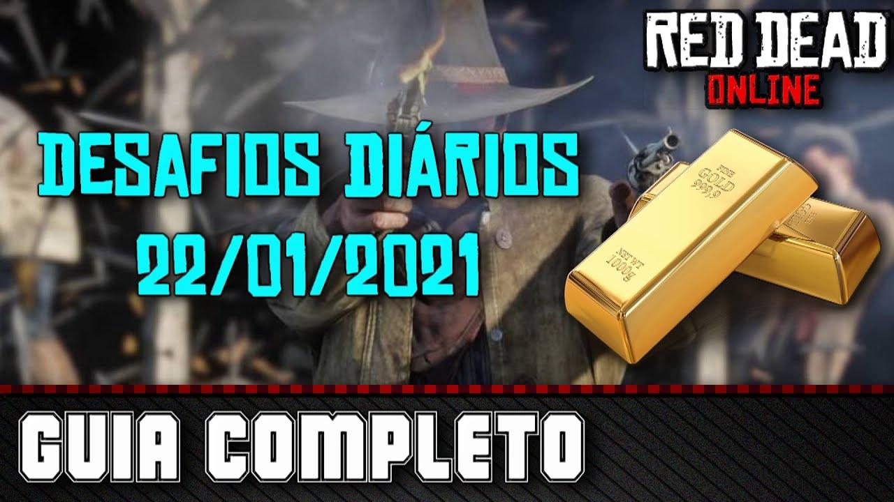Desafios Diários - Red Dead Online 22/01/2021
