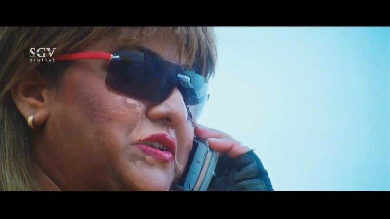 Malashree Taking Revenge on RD's Brother | Best Action Scene of Malashree | Veera Kannada Movie
