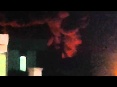 Heavy fire in a cable factory in riyadh saudi arab