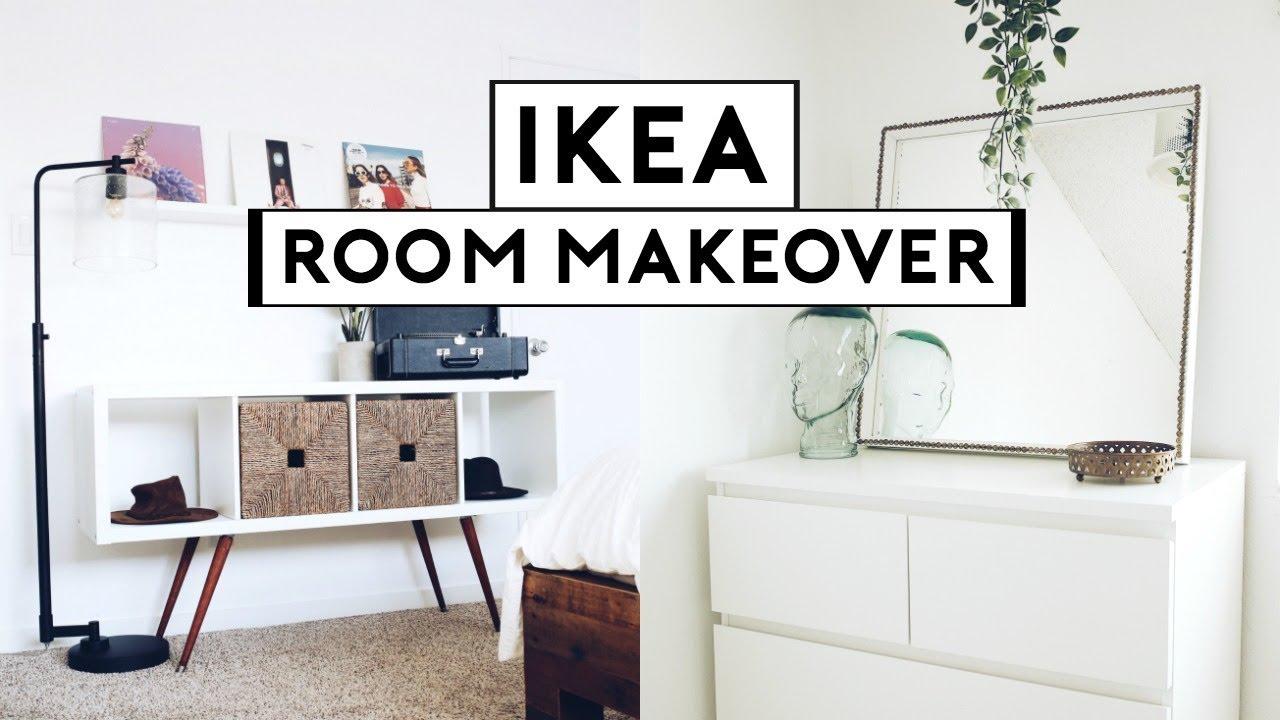 EXTREME BEDROOM MAKEOVER + TRANSFORMATION! IKEA HACKS 10  Nastazsa