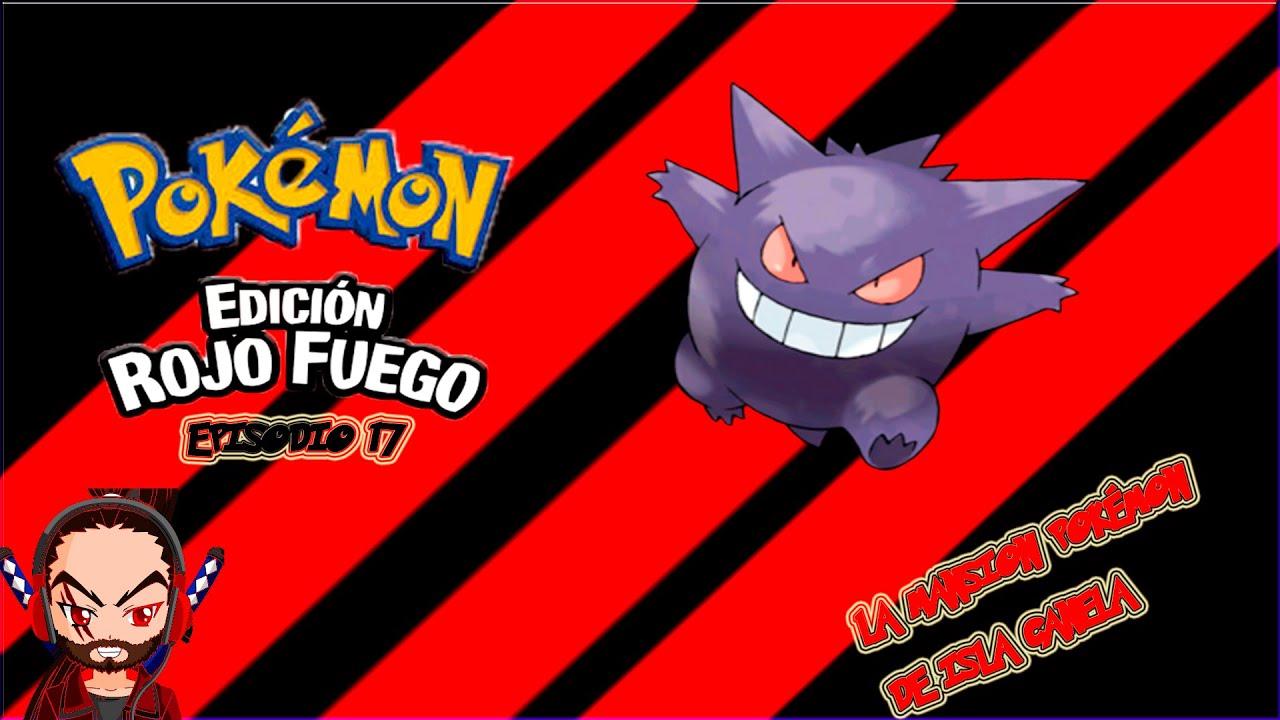 Pok mon rojo fuego episodio 17 la mansion pok mon for Gimnasio 8 pokemon rojo fuego