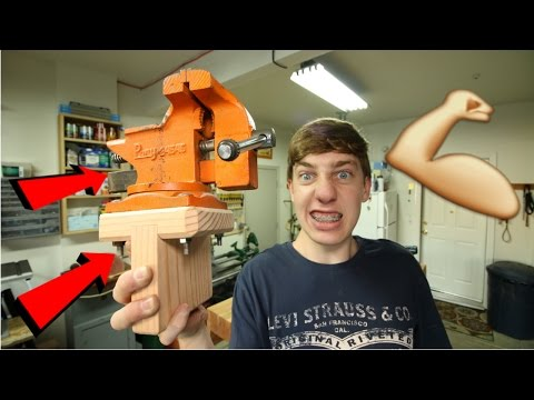 How To Make A SUPER STRONG Vise Mount!!!