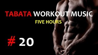 Tabata Workout Music - Five Hours (Deorro) #20 - TIMER