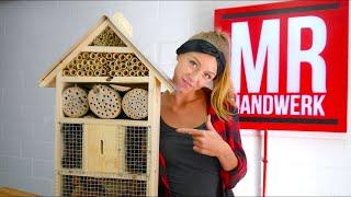 (2/2) Insektenhotel Kinderleicht selber bauen mit PIA