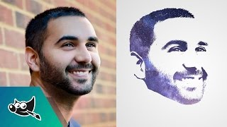 GIMP Tutorial: Transform Face into Galaxy Silhouette