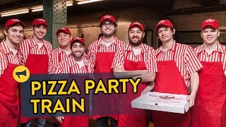 Pizza Party Train