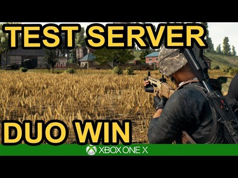 CHICKEN DINNER ON PTS PUBG Xbox One X YouTube