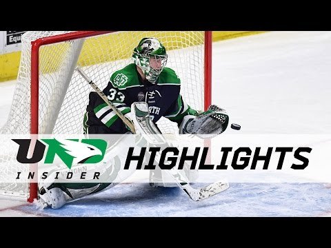UND hockey - Highlights vs Minnesota Duluth - 3/18/17 - NCHC Championship