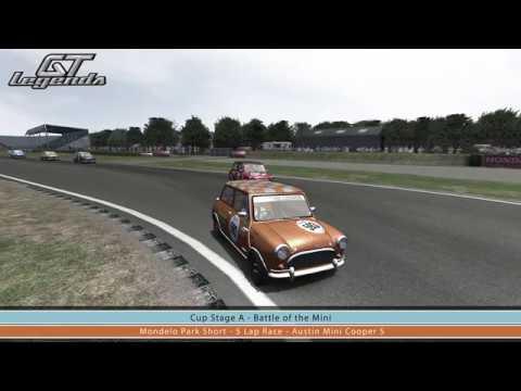 Gt Legends Austin Mini Cooper S At Mondello Park Youtube