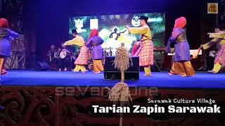 Tarian Zapin Sarawak (Kampung Budaya Sarawak)
