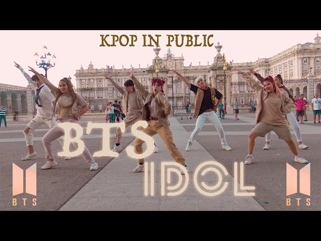 [KPOP IN PUBLIC CHALLENGE] BTS (방탄소년단) - IDOL  || Dance cover by PONYSQUAD || #BTS #IDOL #NICKIMINAJ