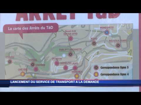 Un transport à la demande à Monaco