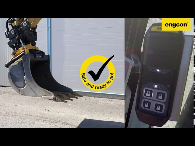 QSC locking system for engcon Tiltrotators [English]