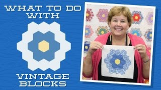 What To Do With Vintage Blocks