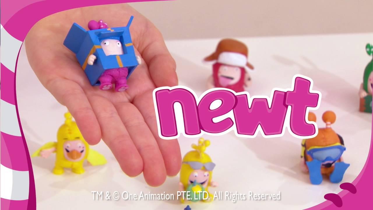 12b0ec9d0ff Smyths Toys - Oddbods Collectible Figurines Blind Bag Assortments - YouTube