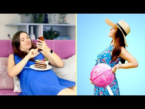 Pregnancy Situations Every Woman Can Relate To / Pregnancy Hacks