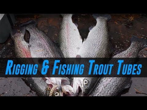 How To Fish For Trout Using Trout Tube Baits (HIGHLY EFFECTIVE!)