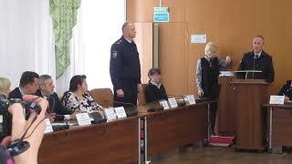 Представили нового начальника отдела МВД по Бердску