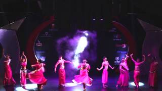 Banjara School of Dance - Kathak Belly dance fusion - India Fiesta Latina 2013 (Day 3)