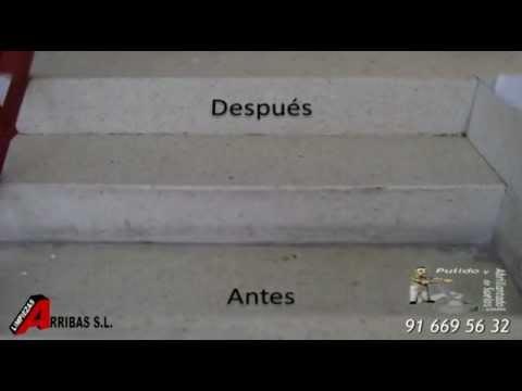 Limpiar suelos y escaleras sucias youtube - Como limpiar piso de cemento pulido ...