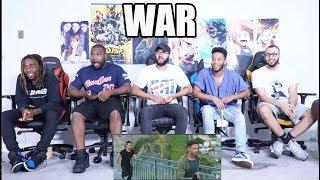 WAR | Official Teaser | Hrithik Roshan | Tiger Shroff | Vaani Kapoor REACTION
