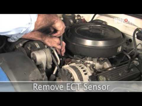 How to change Engine Coolant Temperature (ECT) Sensor - 1995 Chevy Suburban