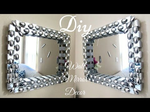 Diy Unique Dollar Tree Wall Mirror Decor with Depth and Contrast!