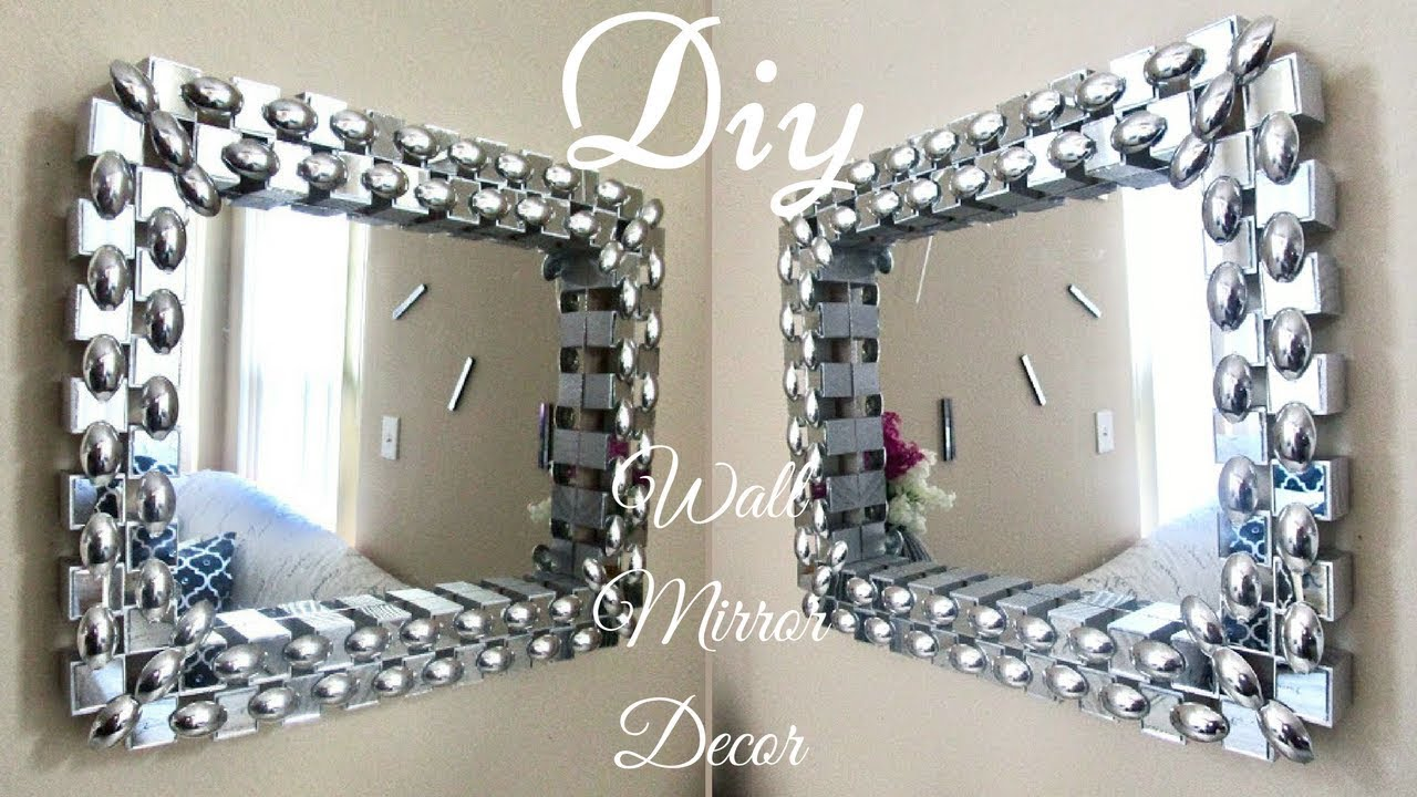 Diy Unique Dollar Tree Wall Mirror Decor With Depth And