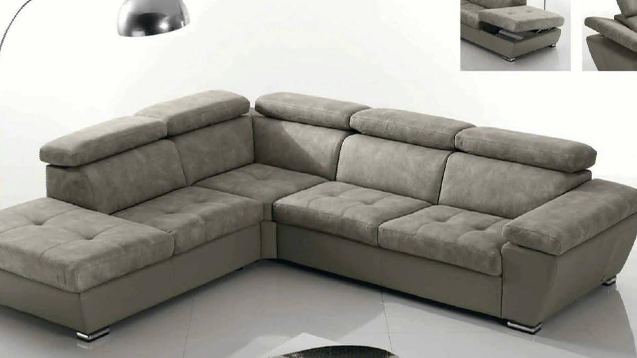 Salotti e divani in pelle moderni angolari e con penisola for Divani salotti