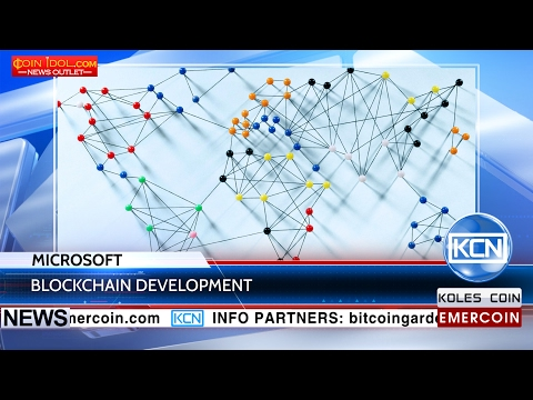 KCN Microsoft and KPMG to study blockchain