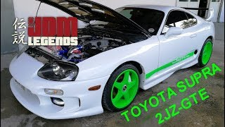 Toyota Supra mkiv 2JZ-GTE VVTI 3.0 - une légende JDM - acceleration - moteur