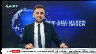 KRT Ana Haber - Gökhan GÜLBASAR - 16 Kasım 2018 - KRT TV