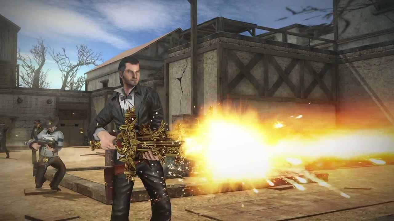 Download Six-Guns / iPhone-iPad / Multiplayer Trailer