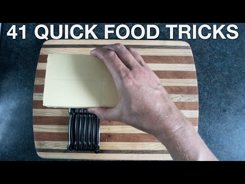 41 Quick Food Tricks You Suck at Cooking