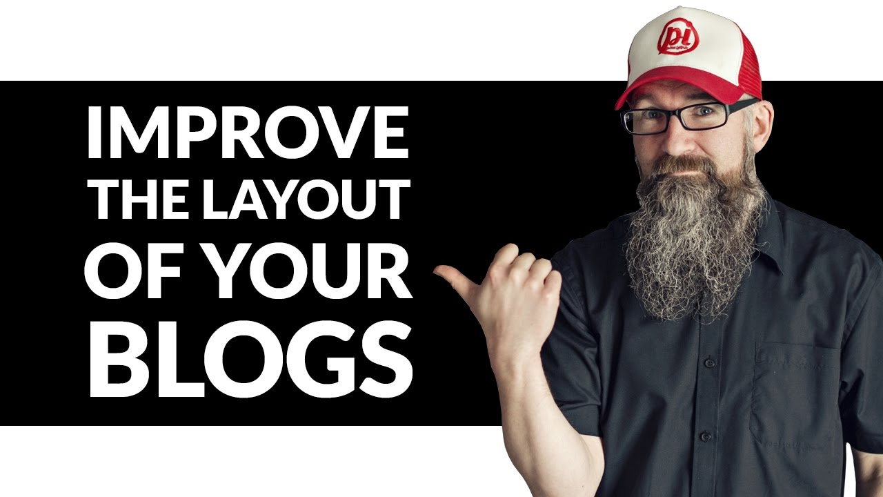 Blog Design Tips - Improving the layout of your blog