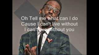Tye Tribbett feat. KJ Scrivens -What Can I Do w/ Lyrics