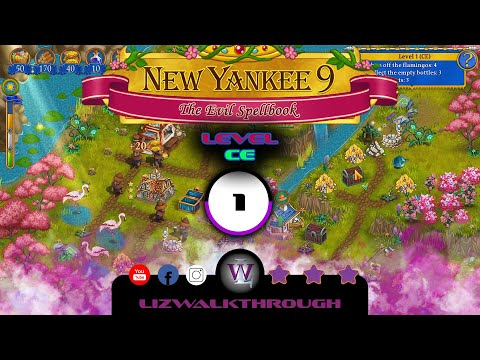 New Yankee 9 - Level CE 1 Walkthrough (The Evil Spellbook) |