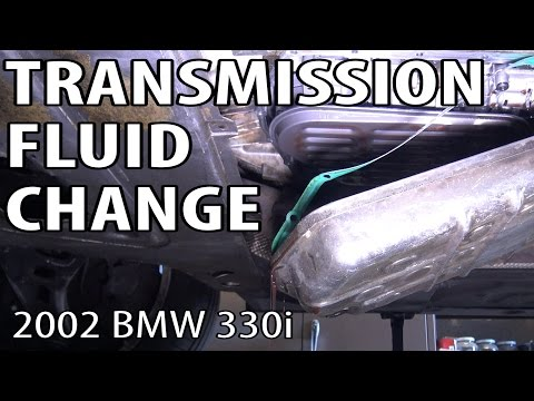 bmw e46 manual transmission fluid change