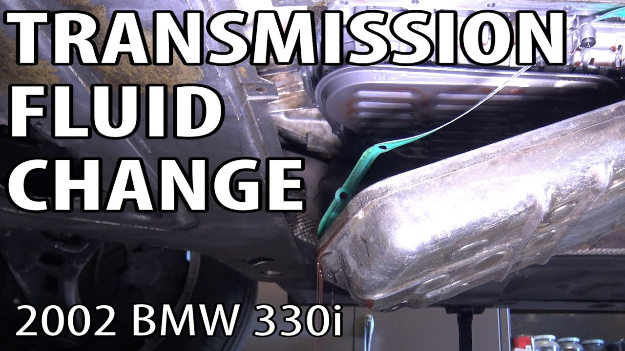 BMW E46 How To Change Automatic Transmission Fluid