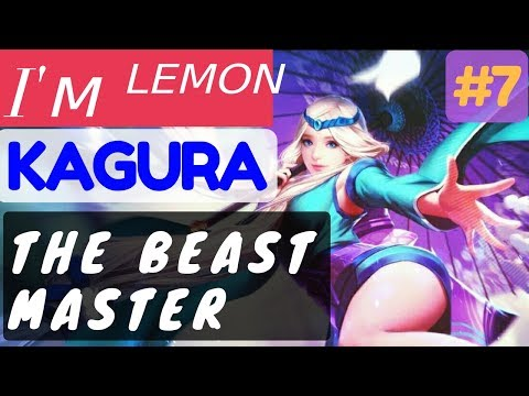 The Beast Master [Rank 1 Kagura] | Kagura Gameplay and Build By I'ᴍ ᴸᴱᴹᴼᴺ #7 Mobile Legends