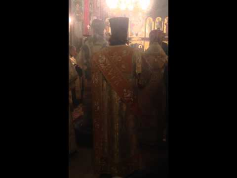 The Enthronement of Metropolitan Tikhon of the Orthodox Church In America