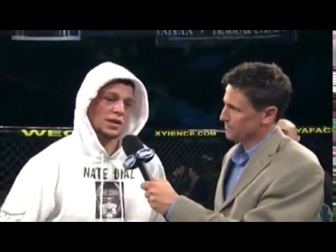 Nick Diaz advice to Nate Diaz (funny interview)