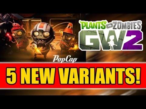 Plants Vs Zombies Garden Warfare 2 - 5 NEW VARIANTS! POWER CITRON,  Z7 Imp + More