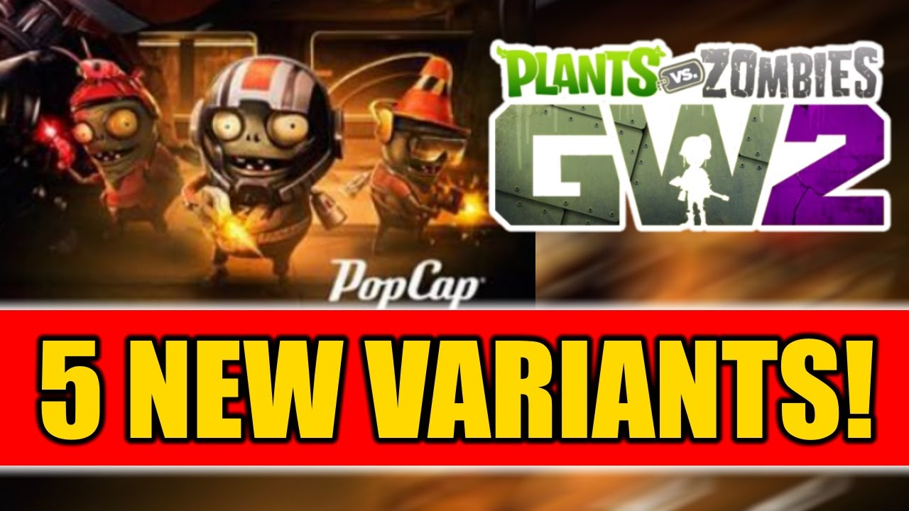 Citron from plants vs zombies garden warfare 2 plants vs zombies - Plants Vs Zombies Garden Warfare 2 5 New Variants Power Citron Z7 Imp More
