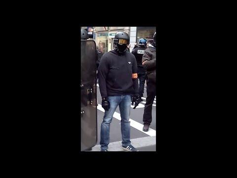 Manifestation gilets jaunes du 9 février (Acte XIII) à Renne