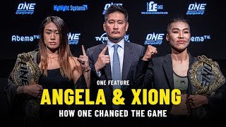 Angela Lee & Xiong Jing Nan On How ONE Changed The Game | ONE Feature